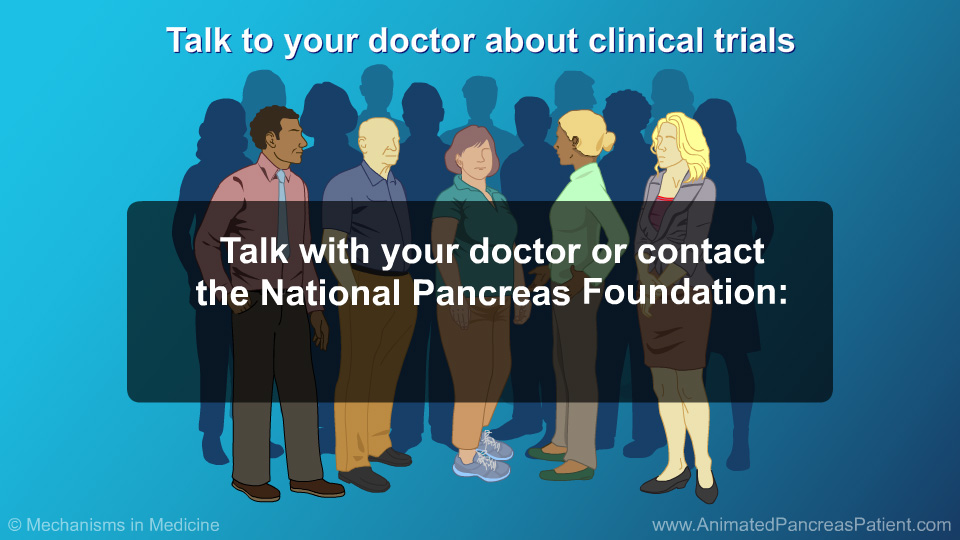 Talk to your doctor about clinical trials