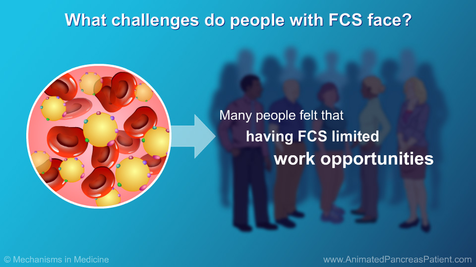 What challenges do people with FCS face? - 3